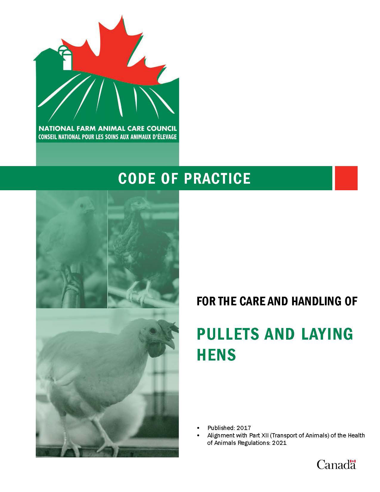Poultry (Layers) - Code of Practice for the Care and
